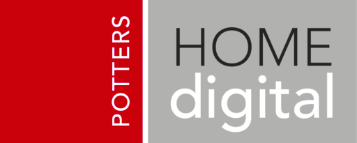 Potters Home Digital Logo