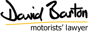 David Barton Motorists Lawyer Logo
